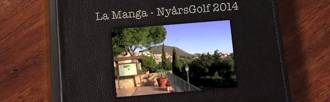 NyårsGolf 2014: La Manga – Filmen