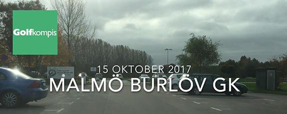 Film från Malmö Burlöv GK 15 okt 2017