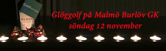 Glöggolf på Malmö Burlöv GK söndag 12 november